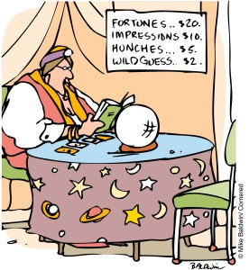 Comic by Mike Baldwin - Cornered